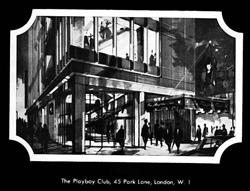 London Playboy Club 1960s