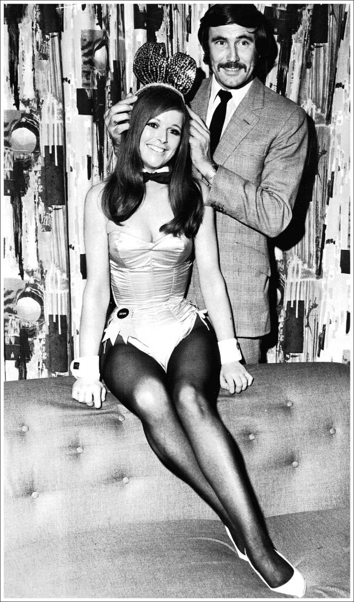 Crowned by GEORGE LAZENBY, the 2nd James Bond