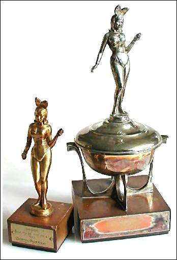 My Bunny of The Year Trophies
